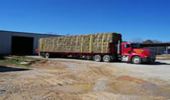 53F truck loaded with big squares
